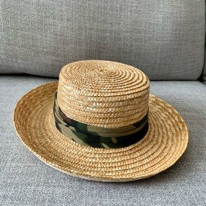 Army straw hat | summer must have